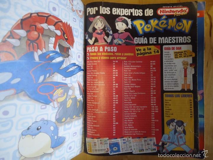 Juguetes antiguos y Juegos de colección: POKÉMON NINTENDO GAME BOY COLOR ADVANCE DS 64 PC ROJO AZUL AMARILLO CRISTAL PINBALL STADIUM MINI - Foto 175 - 61138795
