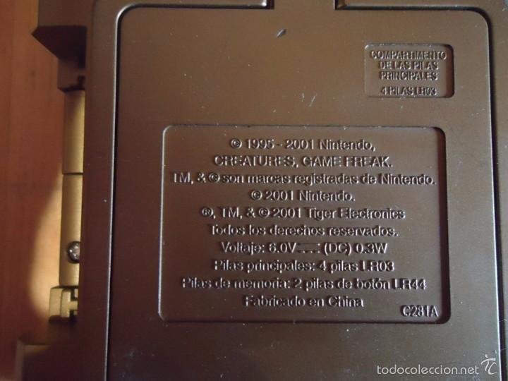 Juguetes antiguos y Juegos de colección: POKÉMON NINTENDO GAME BOY COLOR ADVANCE DS 64 PC ROJO AZUL AMARILLO CRISTAL PINBALL STADIUM MINI - Foto 187 - 61138795