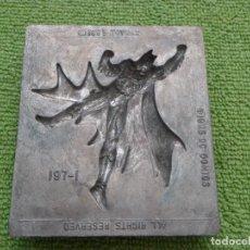 Juguetes antiguos y Juegos de colección: MOLDE METALICO - 1995 TOYMAX - BATMAN - Nº 197-1. Lote 61794052