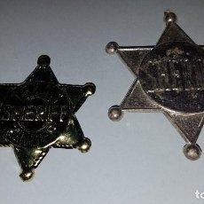 Juguetes antiguos y Juegos de colección: ESTRELLA SHERIFF OESTE. Lote 63400364
