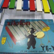 Juguetes antiguos y Juegos de colección: XILOFÓN YE-YÉ. JUGUETES SANTA ANA. EL DE LAS FOTOS. Lote 80664156