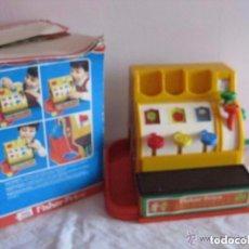 Juguetes antiguos y Juegos de colección: CAJA REGISTRADORA DE JUGUETE FISHER-PRICE. Lote 64753183