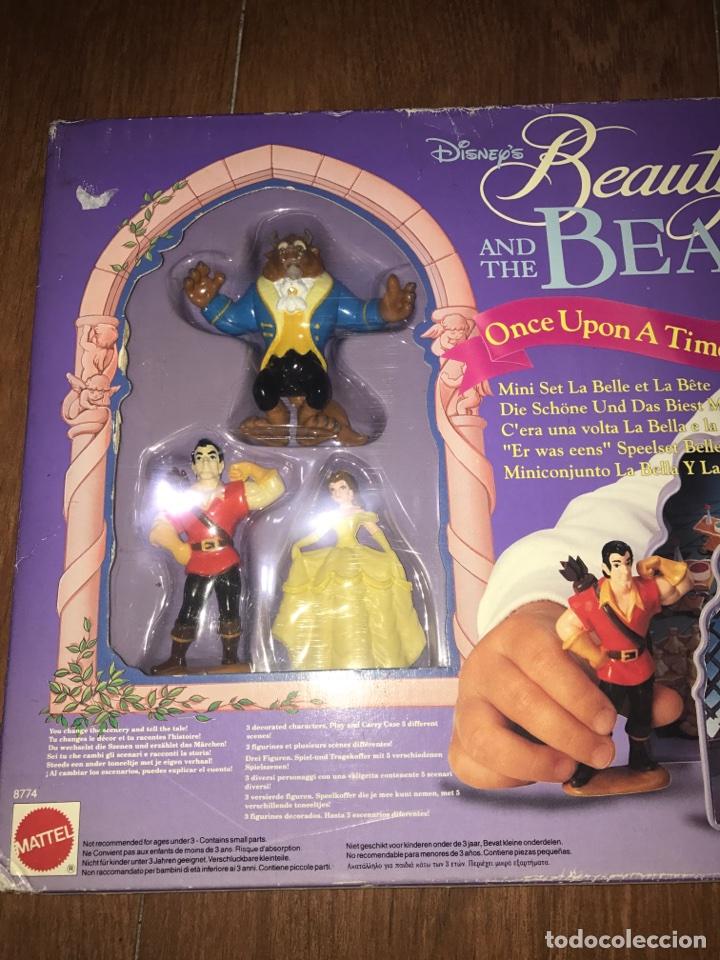 Juguetes antiguos y Juegos de colección: Disney la bella y la bestia - Foto 2 - 65966322