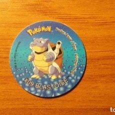 Juguetes antiguos y Juegos de colección: TAZO POKEMON - BLASTOISE - MATUTANO TASTY - TAZOS 2 - AÑO 2000. Lote 65997134