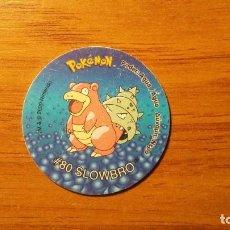 Juguetes antiguos y Juegos de colección: TAZO POKEMON - SLOWBRO - MATUTANO TASTY - TAZOS 2 - AÑO 2000. Lote 65997238