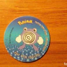 Juguetes antiguos y Juegos de colección: TAZO POKEMON - POLIWHIRL - MATUTANO TASTY - TAZOS 2 - AÑO 2000. Lote 65997430