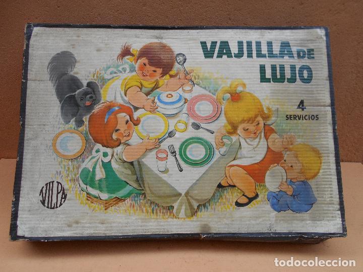 Juguetes antiguos y Juegos de colección: VAJILLA DE LUJO DE LA CASA VILPA - Foto 2 - 66190242