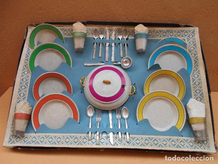 Juguetes antiguos y Juegos de colección: VAJILLA DE LUJO DE LA CASA VILPA - Foto 3 - 66190242