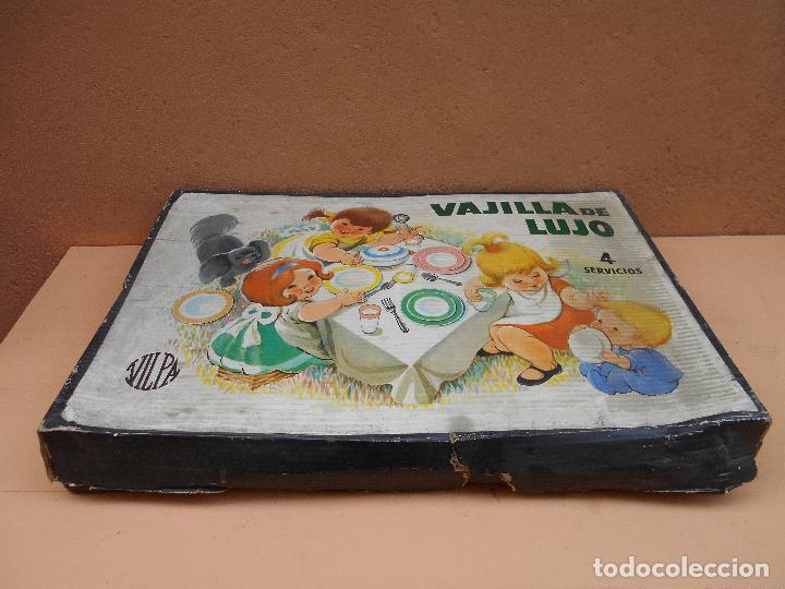 Juguetes antiguos y Juegos de colección: VAJILLA DE LUJO DE LA CASA VILPA - Foto 4 - 66190242