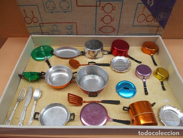 Juego de menaje de cocina marca pse made in spa comprar for Menaje cocina online