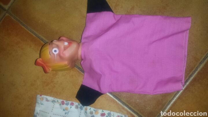 Juguetes antiguos y Juegos de colección: Lote de 9 Antiguas marionetas- Títeres- Muñecos Guiñol- años 60 - Foto 3 - 67435127