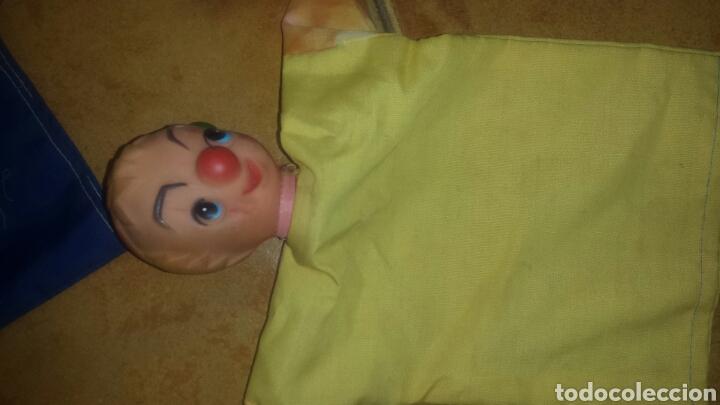 Juguetes antiguos y Juegos de colección: Lote de 9 Antiguas marionetas- Títeres- Muñecos Guiñol- años 60 - Foto 9 - 67435127