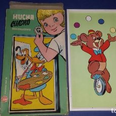 Juguetes antiguos y Juegos de colección: HUCHA CUADRO DE VILPA. Lote 68045993