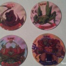 Juguetes antiguos y Juegos de colección: LOTE 4 DUEL TAZOS YU GI HO. Lote 69842605