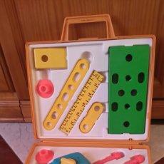 Juguetes antiguos y Juegos de colección: FISHER PRICE TOOL KIT. MALETÍN DE HERRAMIENTAS DE JUGUETE.. Lote 70528938