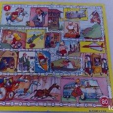 Juguetes antiguos y Juegos de colección: JUEGO ANTIGUO DE SIGLO A SIGLO SOLO TABLERO DE CARTON COROMINAS 29 CMS. DE ALTO X 29 CMS. DE LARGO . Lote 71115929