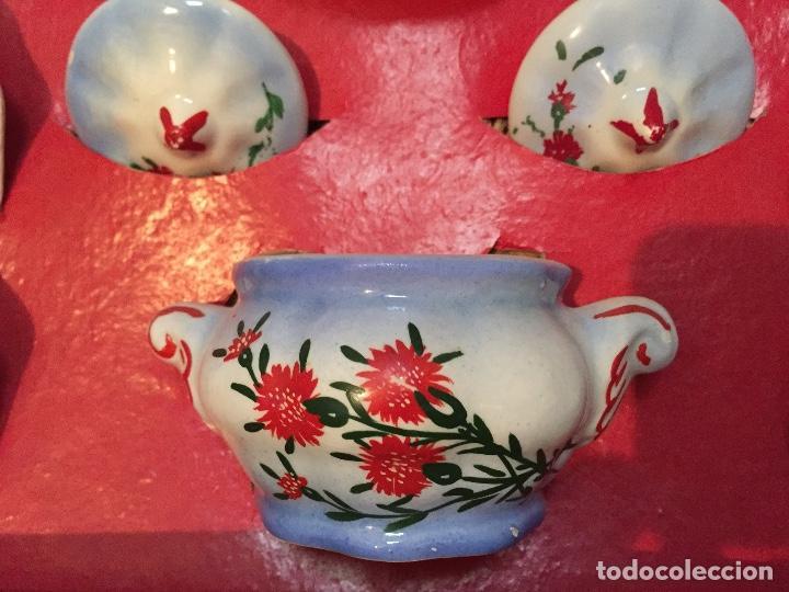 Juguetes antiguos y Juegos de colección: Juego antiguo de cafe en miniatura de cerámica para juego de niños - Foto 4 - 75164611