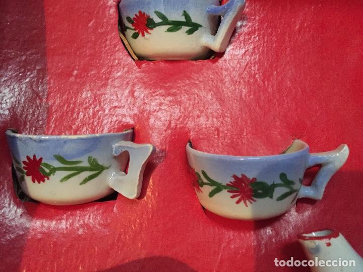 Juguetes antiguos y Juegos de colección: Juego antiguo de cafe en miniatura de cerámica para juego de niños - Foto 6 - 75164611