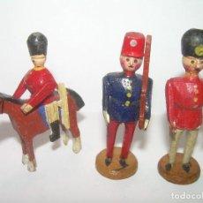 Juguetes antiguos y Juegos de colección: ANTIGUOS JUGUETES DE MADERA.. Lote 75761075