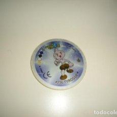 Juguetes antiguos y Juegos de colección: CAJ-3 POKEMON TAZOS TAZO GIGANTAZO 4 236 TYROGUE TIPO LUCHA. Lote 218425213