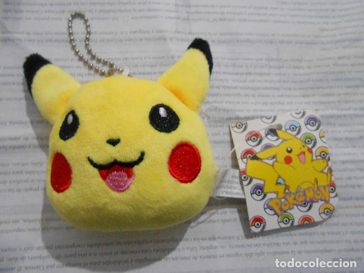 Con De Llavero Pokemon Etiqueta Colgante Pikachu Coche Peluche 54AjRL