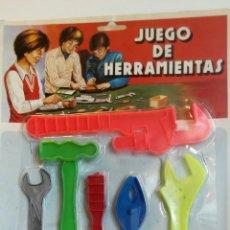 Juguetes antiguos y Juegos de colección: BLISTER JUEGO HERRAMIENTAS MARCA DOMINGO BARATIJA KIOSCO. Lote 76086838