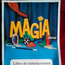 Juguetes antiguos y Juegos de colección: ANTIGUO LIBRO INSTRUCCIONES MAGIA 100 BORRAS. Lote 77645481