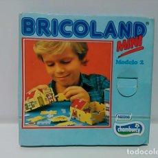 Juguetes antiguos y Juegos de colección: JUEGO DE MONTAJE BRICOLAND, PROMOCIÓN CHAMBURCY. Lote 78237801