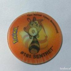 Juguetes antiguos y Juegos de colección: TAZO MATUTANO TASTY -- POKEMON TAZO 3 HOLOGRAFICO -- 161 SENTRET. Lote 78251073