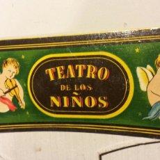 Juguetes antiguos y Juegos de colección: TEATRO DE LOS NIÑOS BOCA ANGELITOS SEIX BARRAL. Lote 78265203