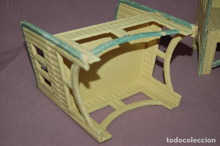 Juguetes antiguos y Juegos de colección: conjunto de sala para muñecas de 40 -45cm antiguo - Foto 3 - 78541493