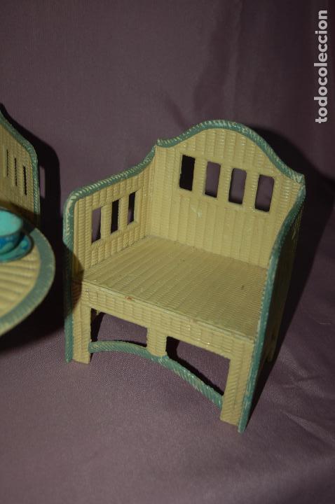 Juguetes antiguos y Juegos de colección: conjunto de sala para muñecas de 40 -45cm antiguo - Foto 5 - 78541493