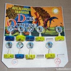 Juguetes antiguos y Juegos de colección: AFILALAPICES FANTASIA. DON QUIJOTE. EL DE LA FOTO. VER. Lote 80084065