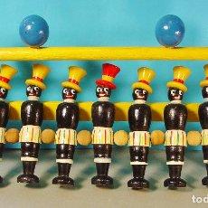 Juguetes antiguos y Juegos de colección: PRECIOSO JUEGOS DE BOLOS. MADERA TORNEADA Y PINTADA. AÑOS 30. EXCELENTE ESTADO. SIN JUGAR. . Lote 81357380