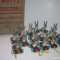 Juguetes antiguos y Juegos de colección - ANTIGUOS JUGUETES MADERA CON CAJA ORIGINAL...DE FONDO DE TIENDA..NUEVOS...TOTAL. 16 UNIDADES. - 81826440