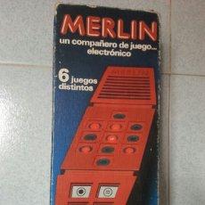 Juguetes antiguos y Juegos de colección: MERLIN - BORRÀS - JUEGO ELECTRÓNICO. Lote 84874438