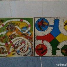 Juguetes antiguos y Juegos de colección: LOTE TABLERO DE JUEGOS, UN PARCHIS DEL GRUPO MUSICAL PARCHIS Y OTRO JUEGO.. Lote 86659884
