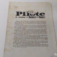 Juguetes antiguos y Juegos de colección: JUEGO PILOTE ASTERIX . Lote 87415952