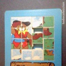 Juguetes antiguos y Juegos de colección: JUGUETE ROMPECABEZAS PUZZLE PUZLE D´ARTACA TRES MOSQUEPERROS PROMOCIONAL JUGADO. Lote 88167888
