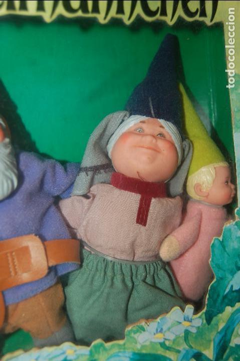 Juguetes antiguos y Juegos de colección: familia de david el gnomo en caja de 1976 HEINZELMANNCHEN de mattel rarisimo - Foto 4 - 88297200
