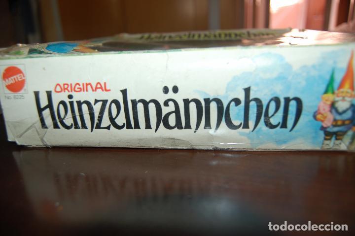 Juguetes antiguos y Juegos de colección: familia de david el gnomo en caja de 1976 HEINZELMANNCHEN de mattel rarisimo - Foto 7 - 88297200