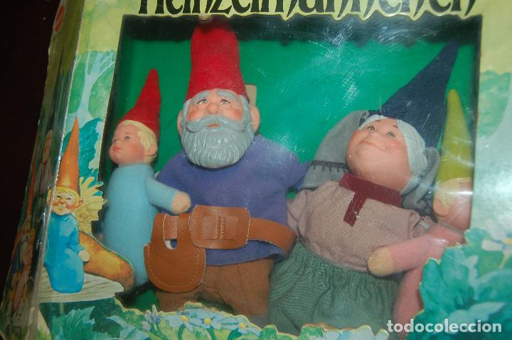 Juguetes antiguos y Juegos de colección: familia de david el gnomo en caja de 1976 HEINZELMANNCHEN de mattel rarisimo - Foto 8 - 88297200