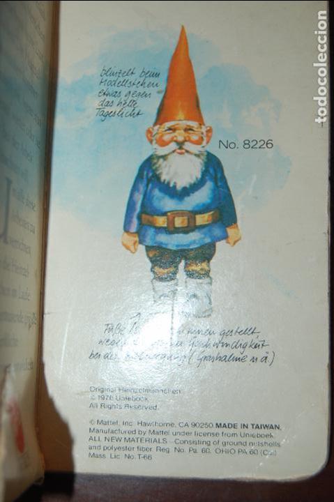 Juguetes antiguos y Juegos de colección: familia de david el gnomo en caja de 1976 HEINZELMANNCHEN de mattel rarisimo - Foto 10 - 88297200