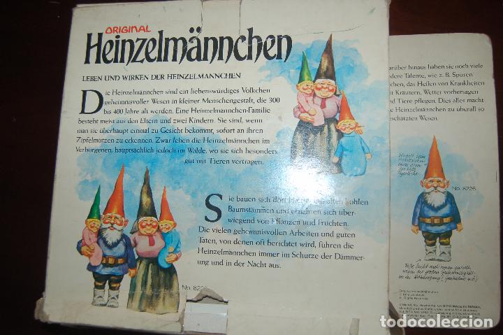 Juguetes antiguos y Juegos de colección: familia de david el gnomo en caja de 1976 HEINZELMANNCHEN de mattel rarisimo - Foto 12 - 88297200
