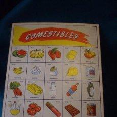 Juguetes antiguos y Juegos de colección: CARTONES PARA JUGAR A LAS TIENDAS. Lote 88968928
