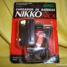 Juguetes antiguos y Juegos de colección: CARGADOR DE BATERIAS NIKKO COCHES DE RADIO CONTROL, DE IMC, NUEVO.. Lote 108737991