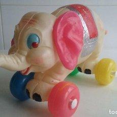 Juguetes antiguos y Juegos de colección: ANTIGUO ELEFANTE DUMBO/DISNEY EN PLASTICO AÑOS 70, NUEVO¡¡¡¡¡¡¡¡¡¡¡. Lote 92447365