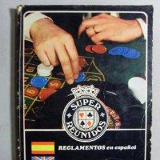 Juguetes antiguos y Juegos de colección: SUPER REUNIDOS / REGLAMENTOS. Lote 93306515