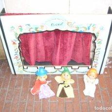 Juguetes antiguos y Juegos de colección: TEATRILLO MARIONETAS AÑOS 60 GUIÑOL. Lote 94115155