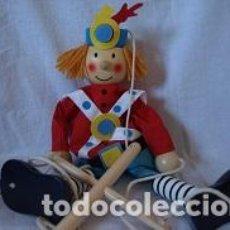 Juguetes antiguos y Juegos de colección: MARIONETA DE MADERA . Lote 94213590